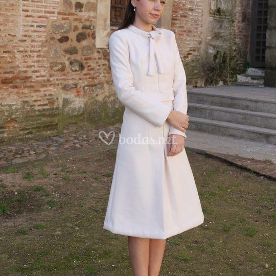 Vestido de novia corto