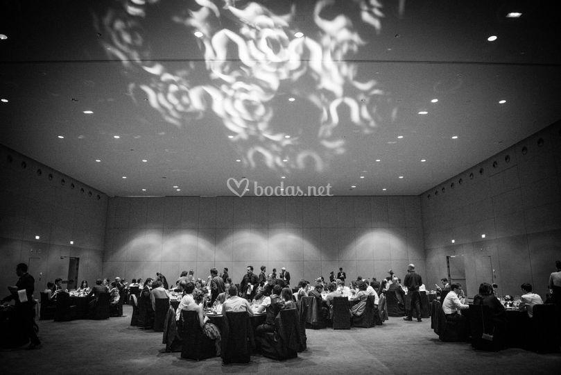 Banquete Hotel W -Ambientación
