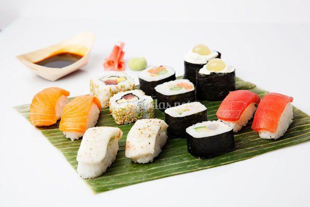 Ejemplo de sushi