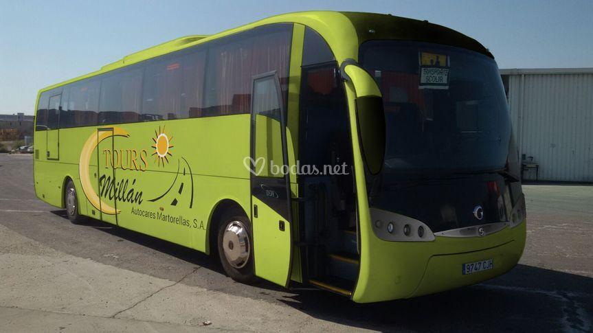 Buses con PRM 59 pax