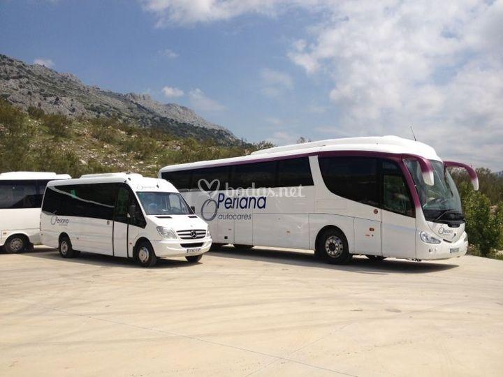 Mercedes y Volvo