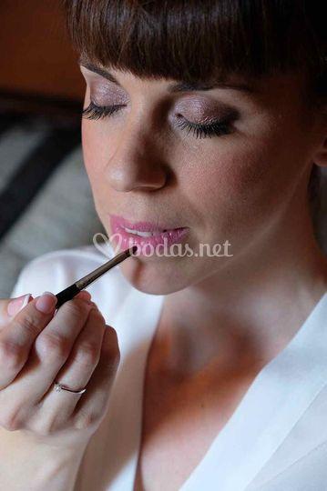 Maquillaje + petañas