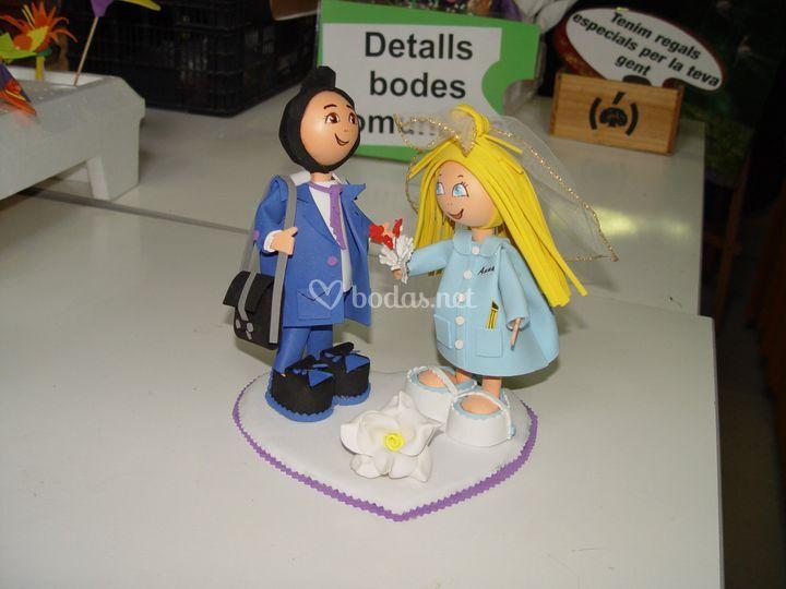 Figura para la tarta