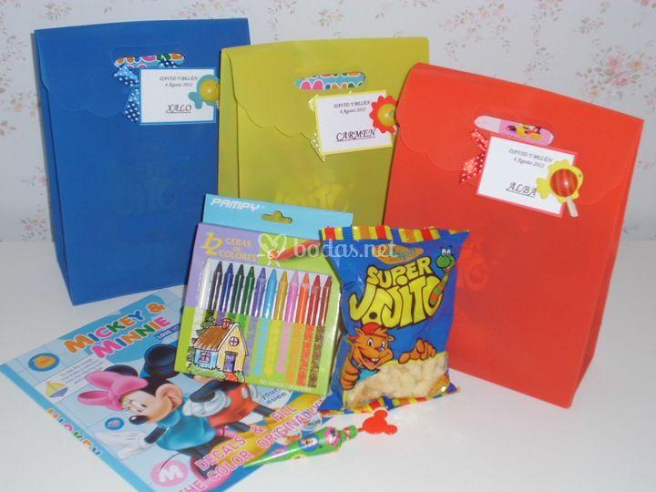 Kit de diversión para los niños