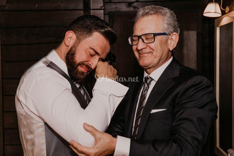 Robados entre padre e hijo