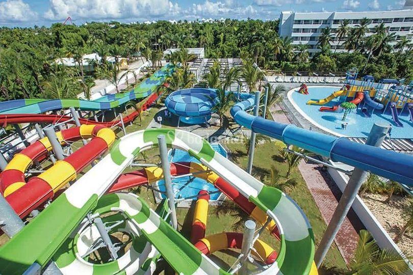 Hoteles con parques acuáticos