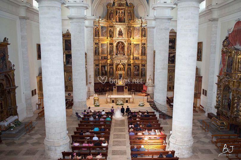 Panorama de la catedral