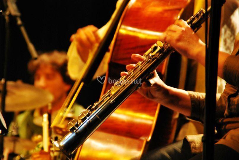 Detalle de los instrumentos