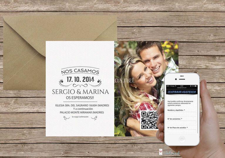 Tubodamovil invitaciones +App