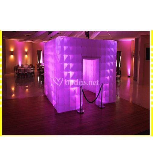 Cubo Inflable con led