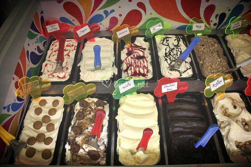 Buffet helados artesanos