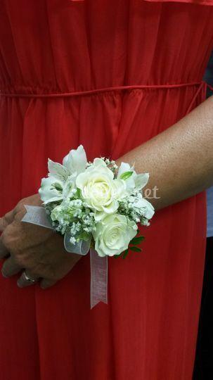 Ramo novia a la mano