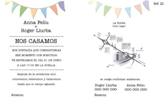 Invitación flyer (Ref. 20)