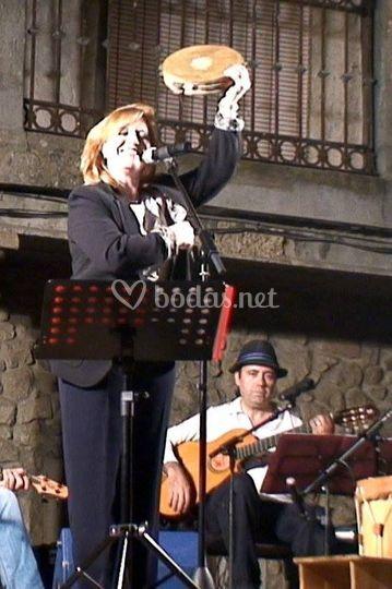 Rosa Maria en concierto
