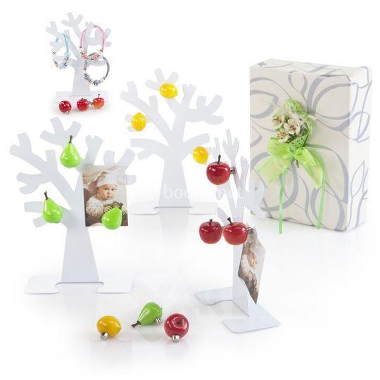 árbol portafotos