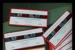 Invitaciones ticket de Papel y Papel