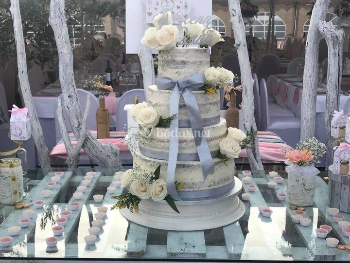 Mesa de la tarta