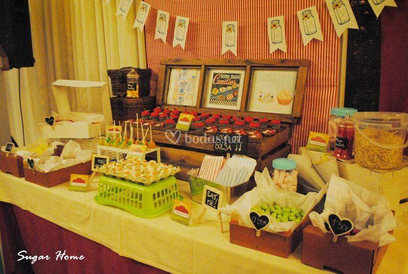 Candy bar mercado 2