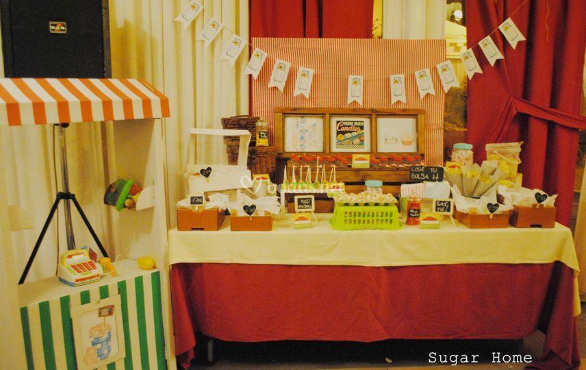 Candy bar mercado 3