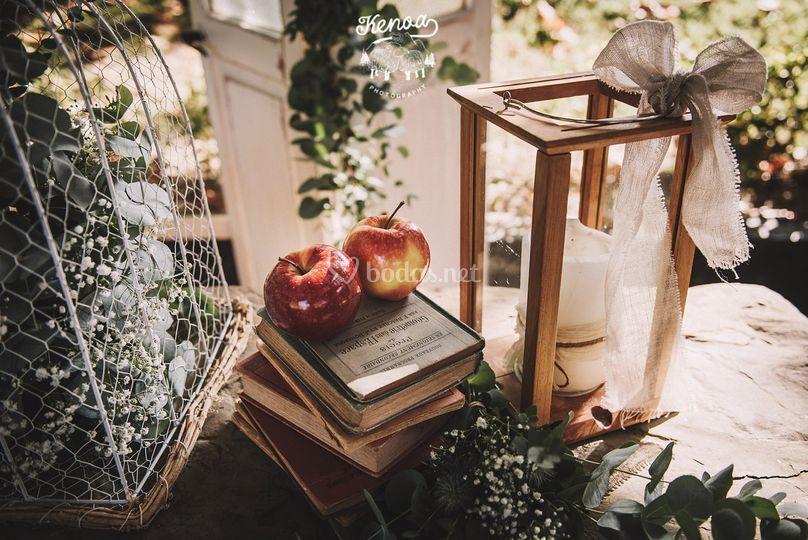 Decoración de bodas eltaller&c