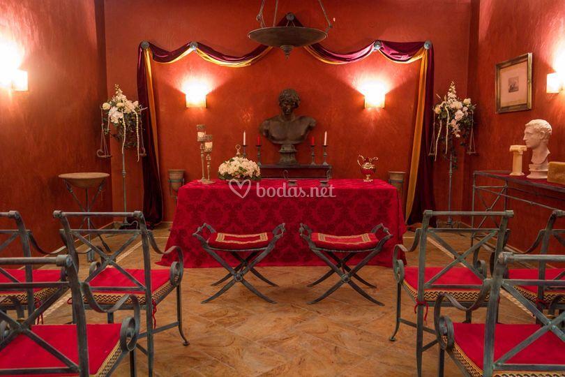 Sala de ceremonias  antinoo
