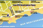 Plano Situaci�n Hotel de Hotel Benalmadena Palace****