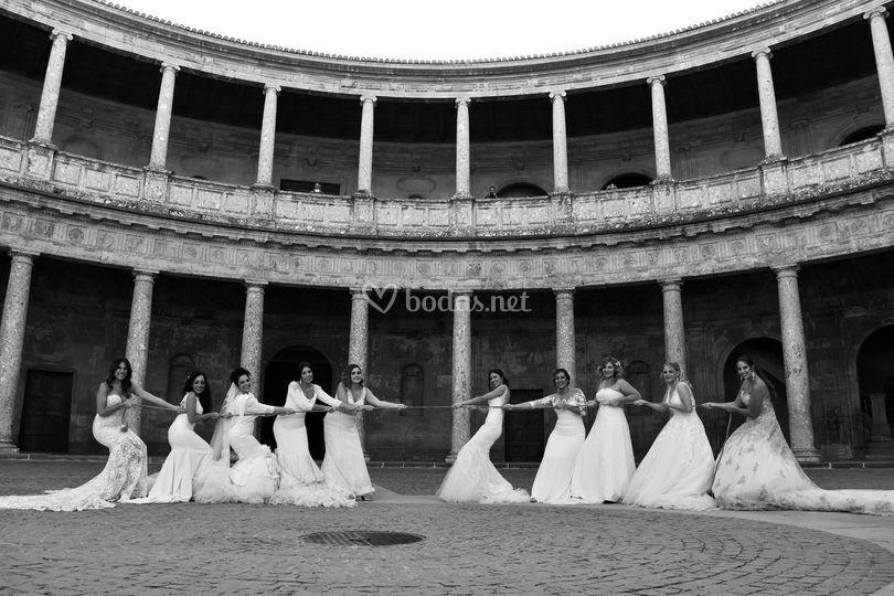 Novias en el Palacio