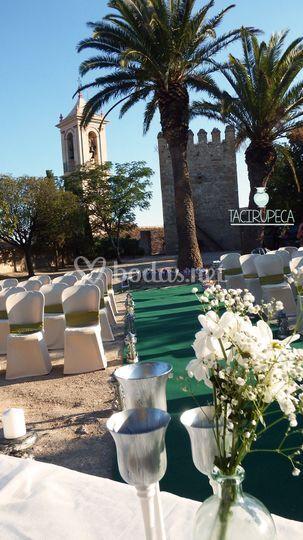 Ceremonia Castillo de Espejo