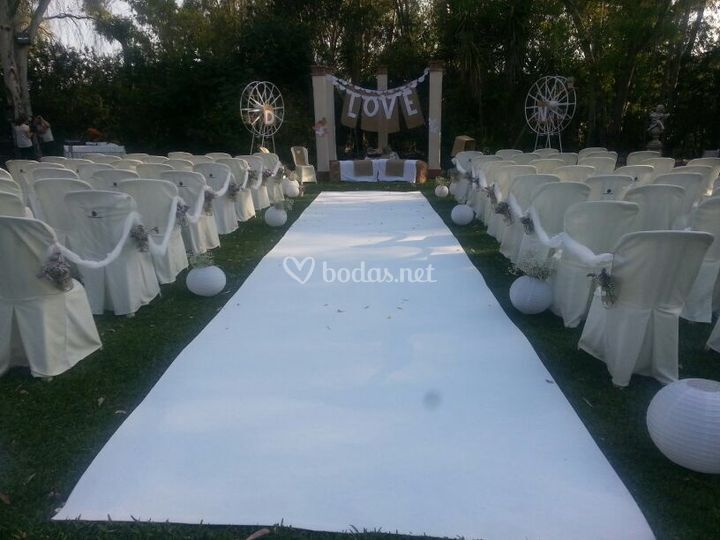 Photocall inc sevilla - Decoracion bodas civiles ...
