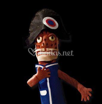Marioneta Napoleón