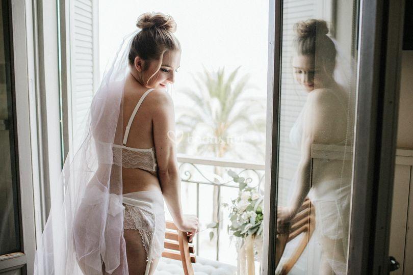 Lencería de novia Quince