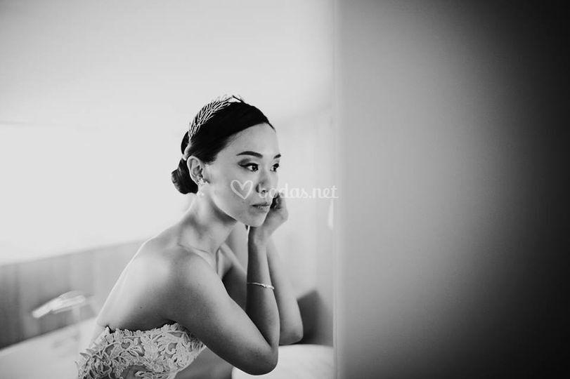 Maquillaje de novia tailandesa