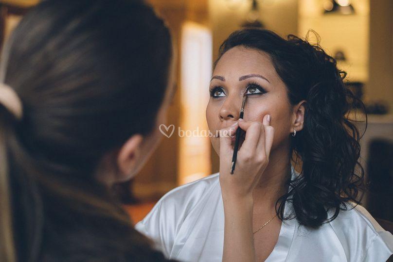 Maquillaje de novia peruana
