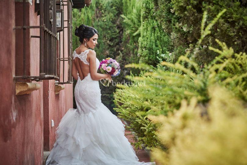 Maqulilaje de novia colombiana
