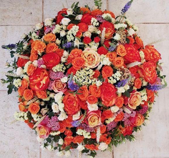 Centro de flores