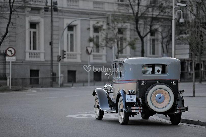 Packard, vista trasera
