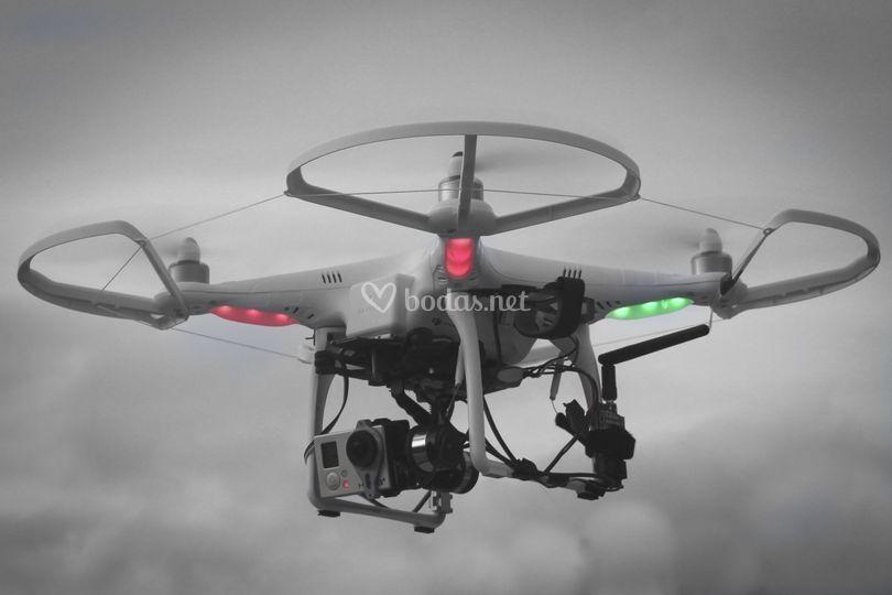 Drones para tomas aéreas