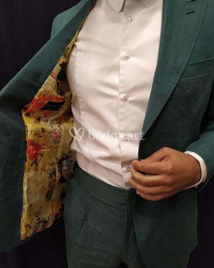 Personalización de traje