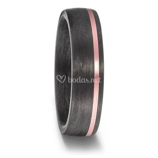 Carbono negro, oro rosa