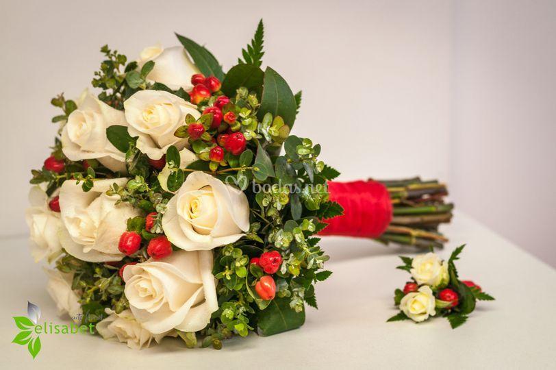 Rosas e hiperecum