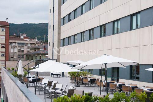 Terraza de ac hotel forum oviedo foto 2 for Terrazas oviedo