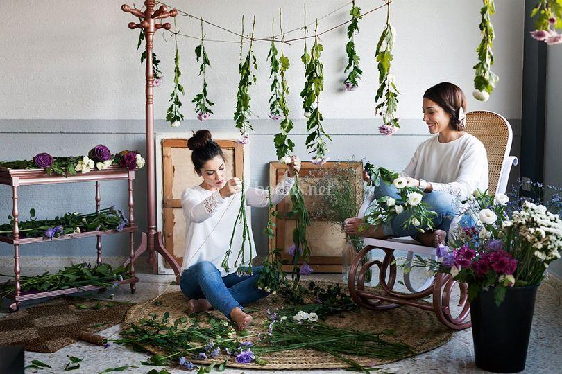 Guirnaldas de flores por WWL