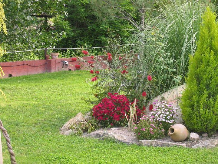 Detalle del jardín
