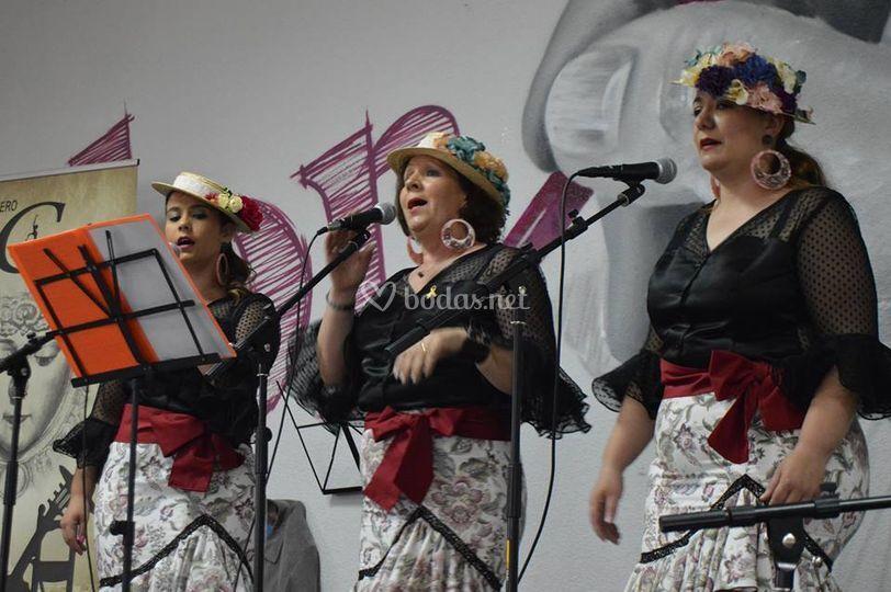 Chicas del coro