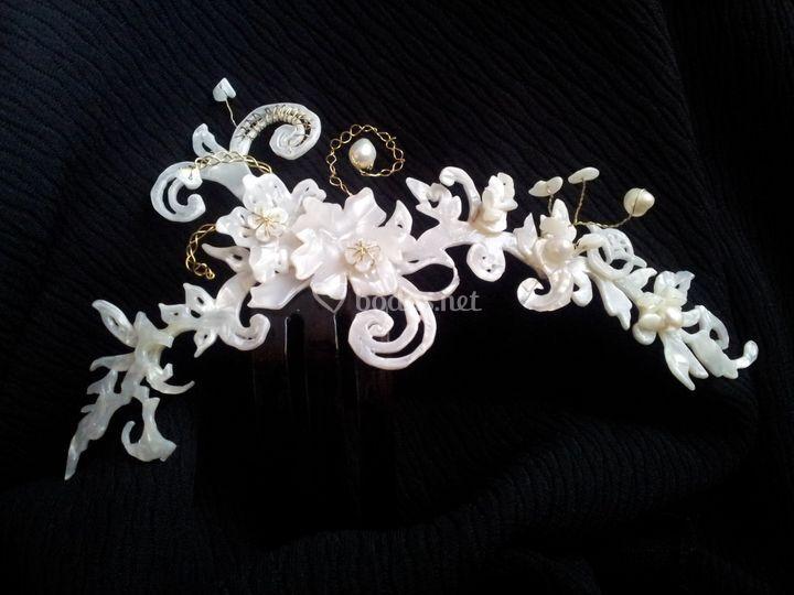 En la cabeza de la novia