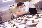 Trabajando en cocina