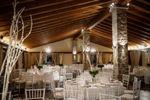 Comedor interior boda invierno