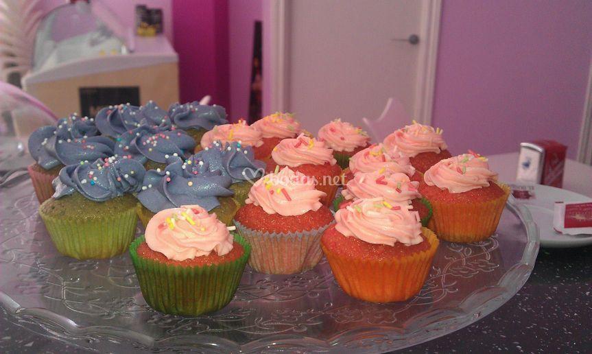 Cupcakes de sabores