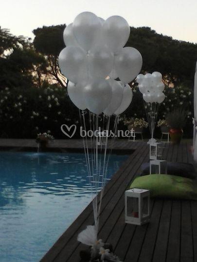 Bouquets de globos