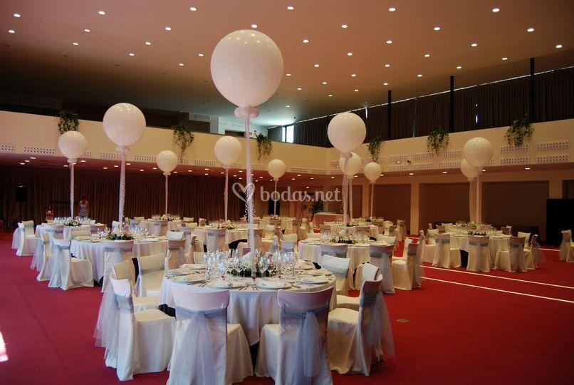 Sala para banquete